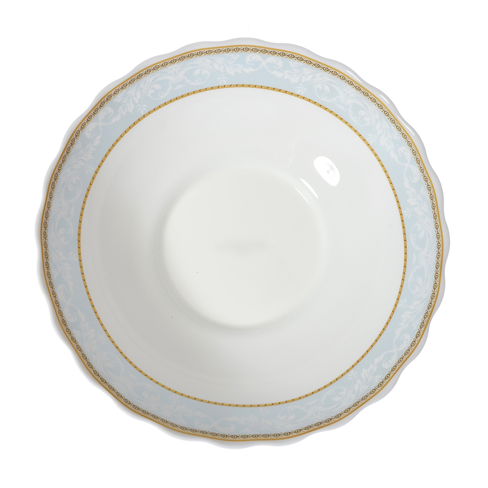 MILLIMI Кристина Салатник, опаловое стекло, 227мм, 1470мл, HW90T-16142C