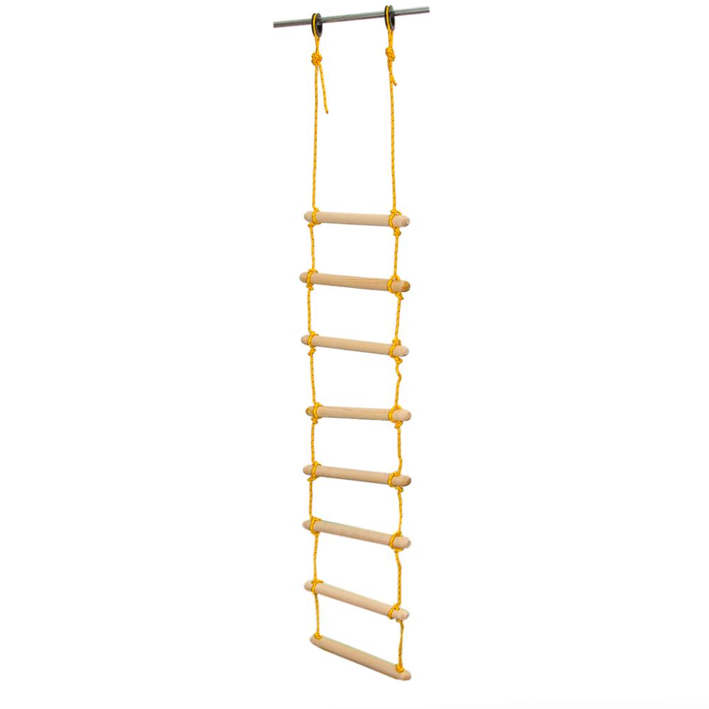 SILAPRO Лестница веревочная, h1,8м x 30см