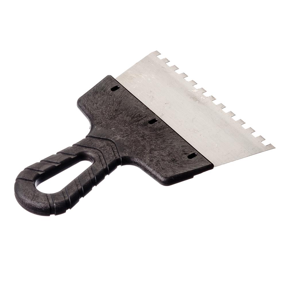 HEADMAN Шпатель фасадный 150 мм, зуб 6 мм, полированная сталь, спец.покрытие, пластмассовая ручка