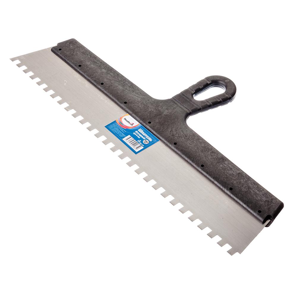 HEADMAN Шпатель фасадный 450 мм, зуб 8 мм, полированная сталь, спец.покрытие, пластмассовая ручка