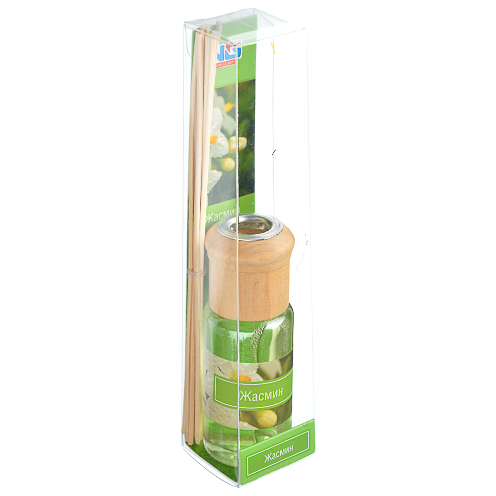 Ароматизатор диффузор с палочками, аромат жасмин, 35 мл, NEW GALAXY