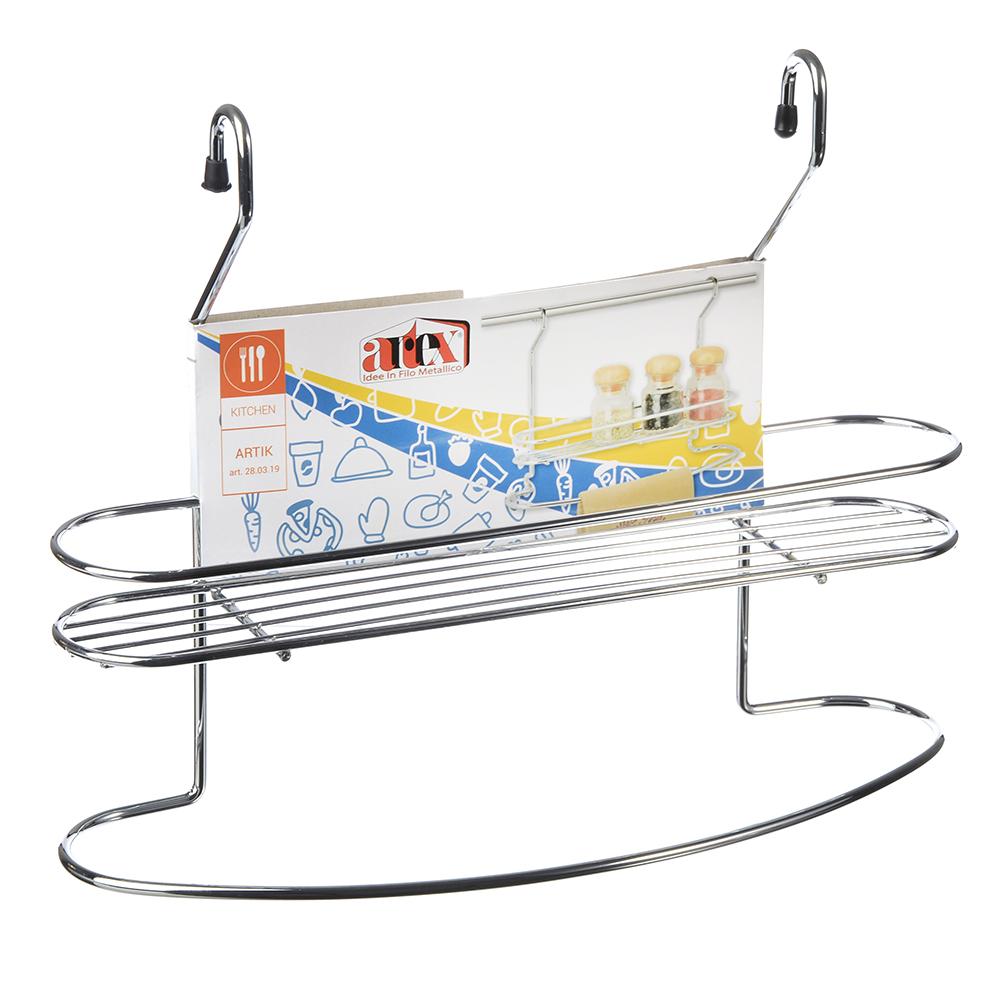 ARTEX Полочка для специй с держателем для полотенца, 32x10x25см, арт.28 03 19