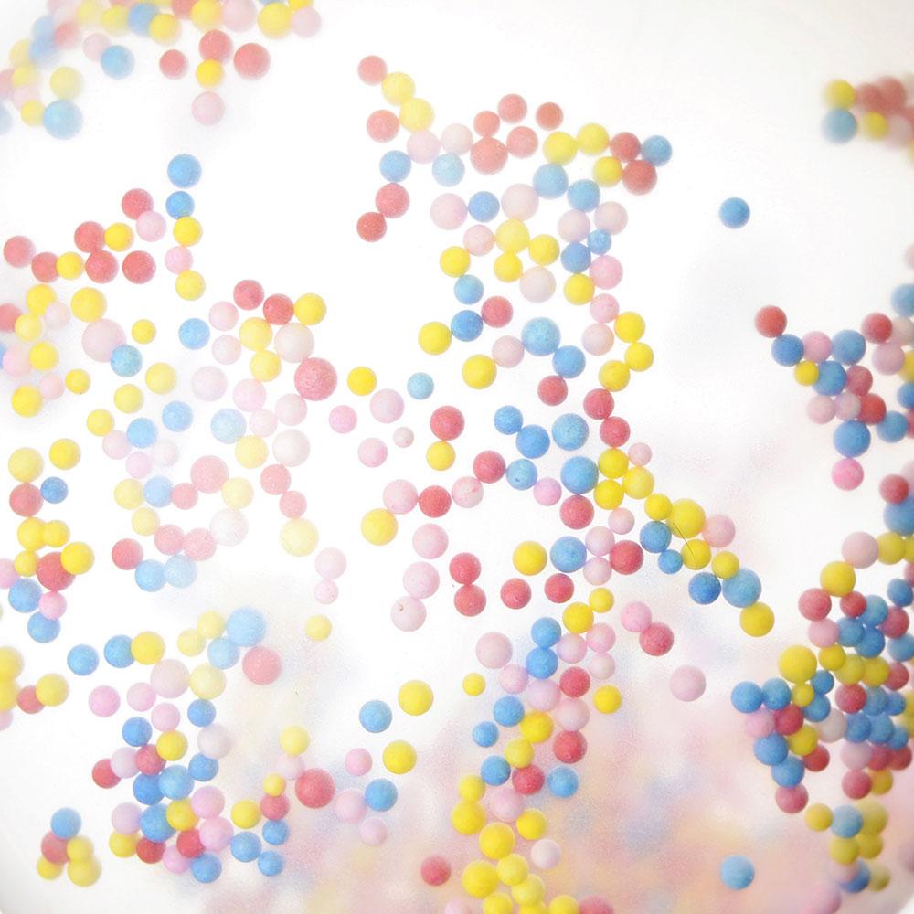 """Шары воздушные с наполнителем, 5 шаров, 5 трубочек, 5 держателей, резина, пластик, 12"""""""