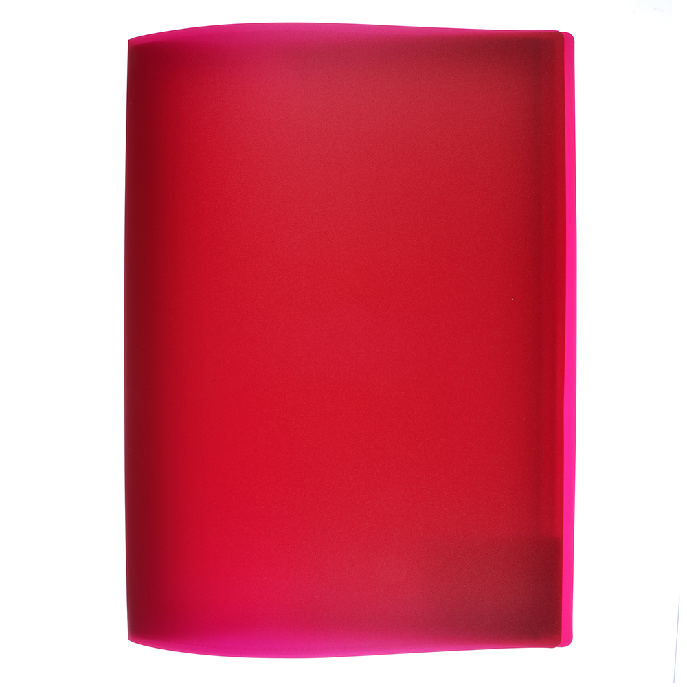 Папка файловая на 20 файлов, корешок 15 мм, 3 цвета, ClipStudio