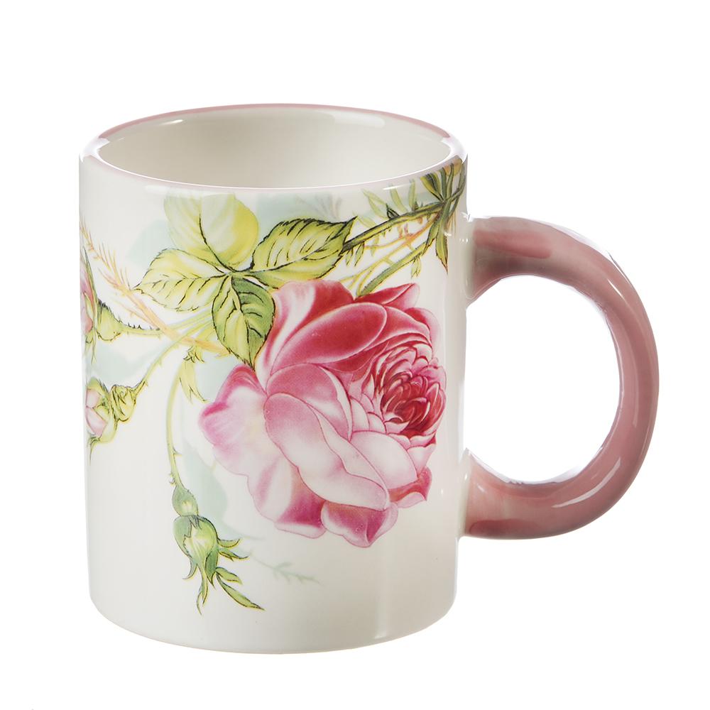 MILLIMI Роза Кружка 300мл, керамика