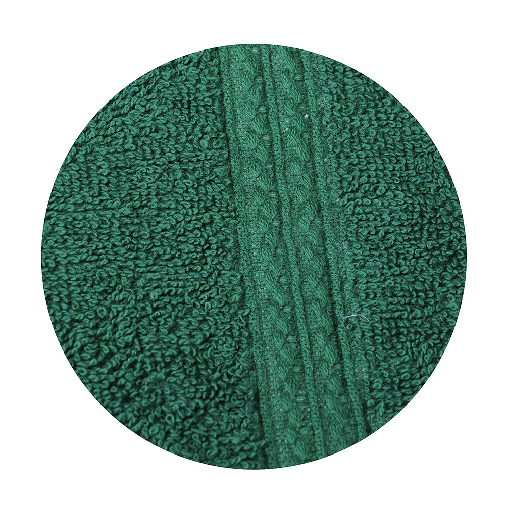 Полотенце для лица махровое, хлопок, 50х90см, зеленое, VETTA