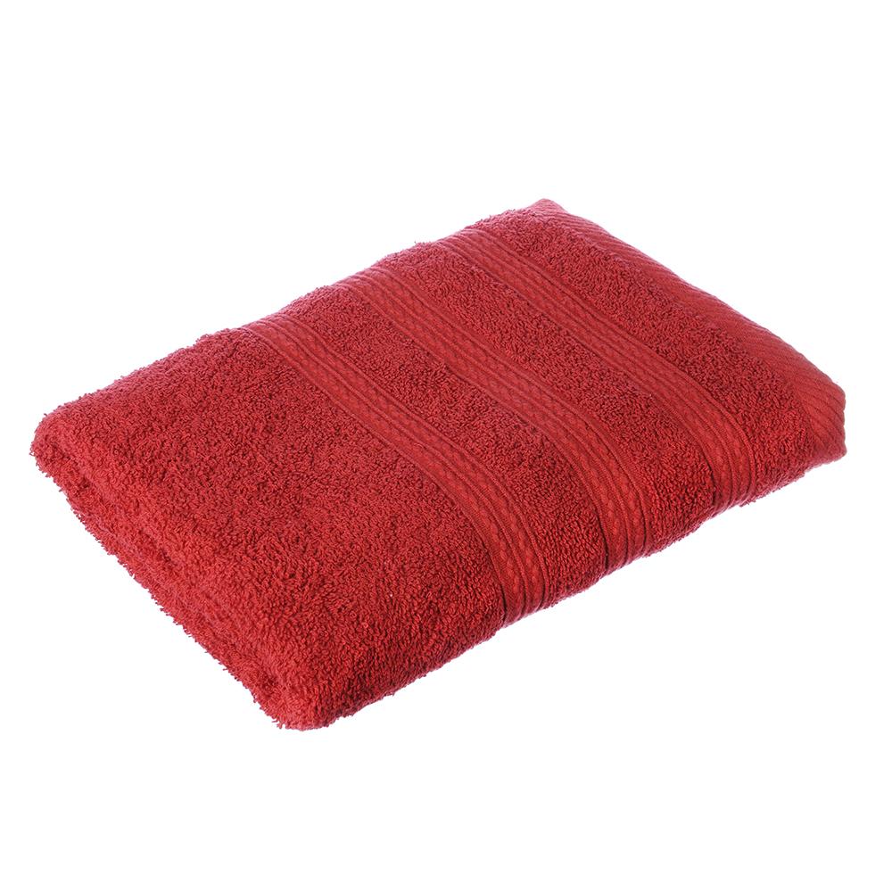 VETTA Полотенце махровое, 100% хлопок, 50х90см, Колор престиж красное