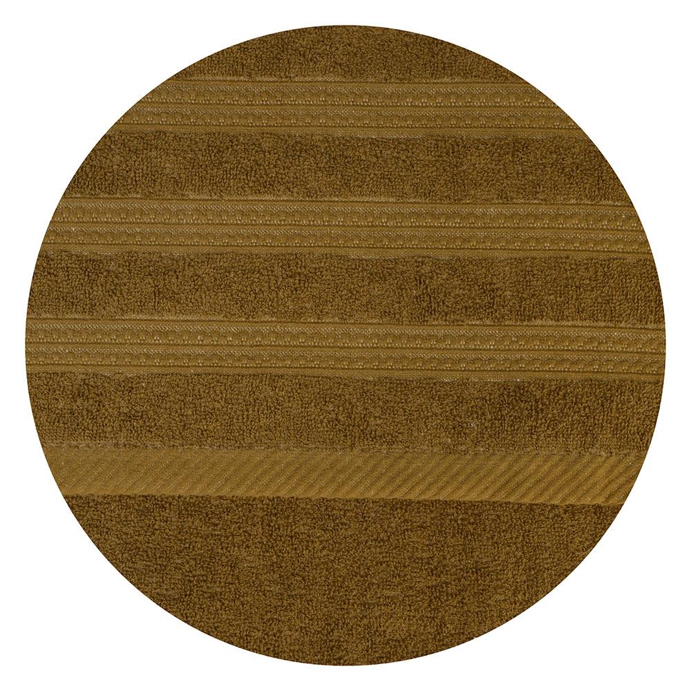 Полотенце банное махровое коричневое, 70х140см, VETTA
