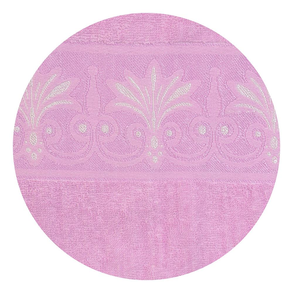 Полотенце банное махровое розовое, 70х140см, VETTA