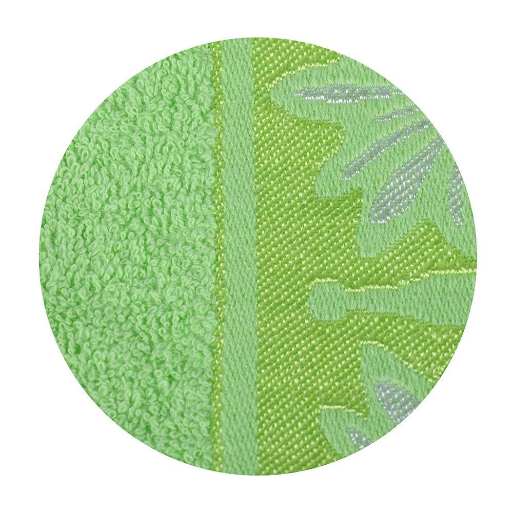 Полотенце банное махровое зеленое, 70х140см, VETTA