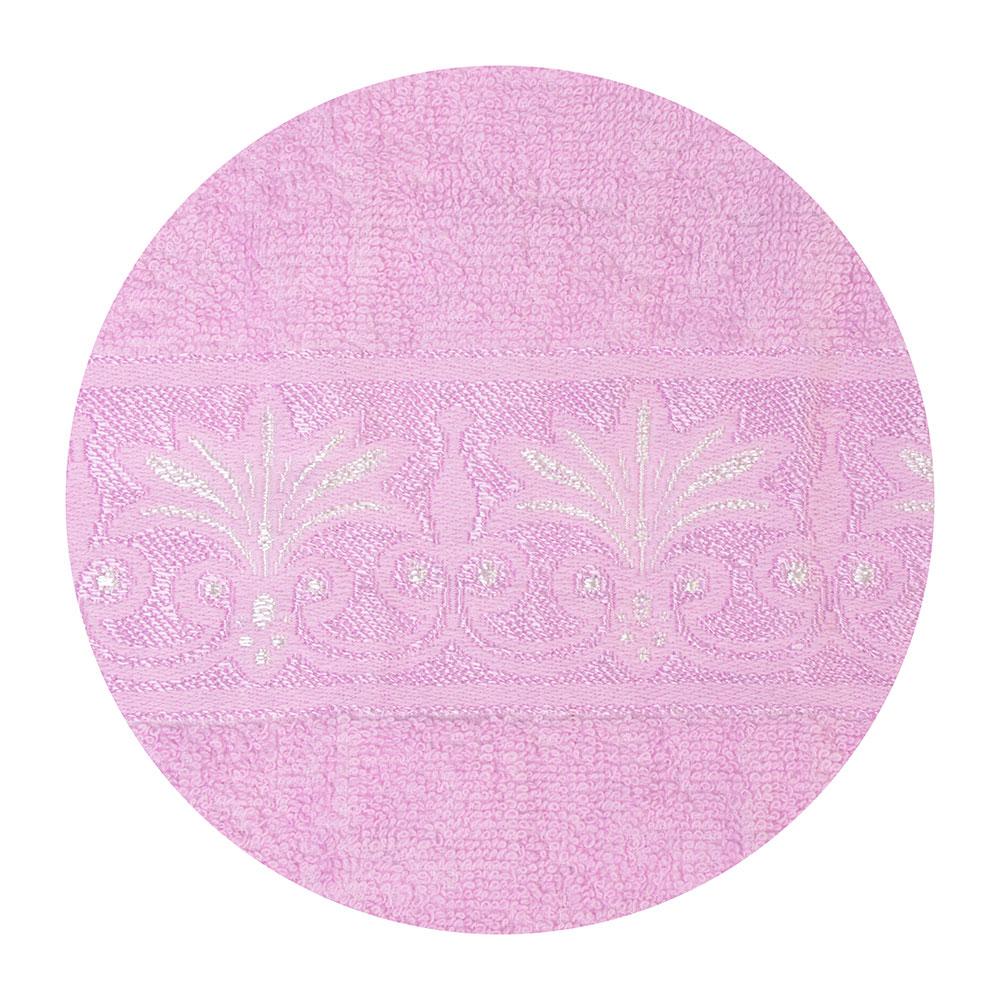 Полотенце для лица махровое, хлопок, 50х90см, розовое, VETTA