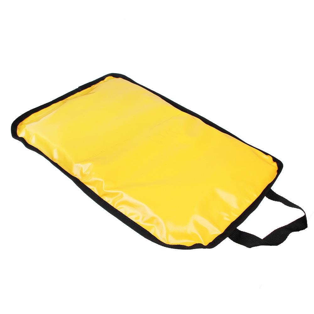 Санки-ледянки с ручкой, прямоугольные, 60x40х4,5см