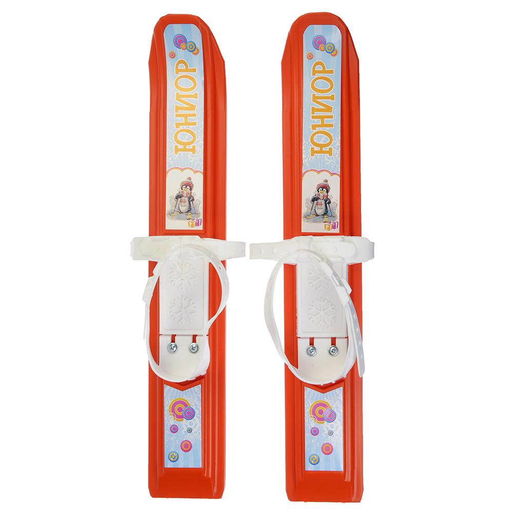 """Мини-лыжи с пластиковыми креплениями,  470 мм, """"Юниор"""""""