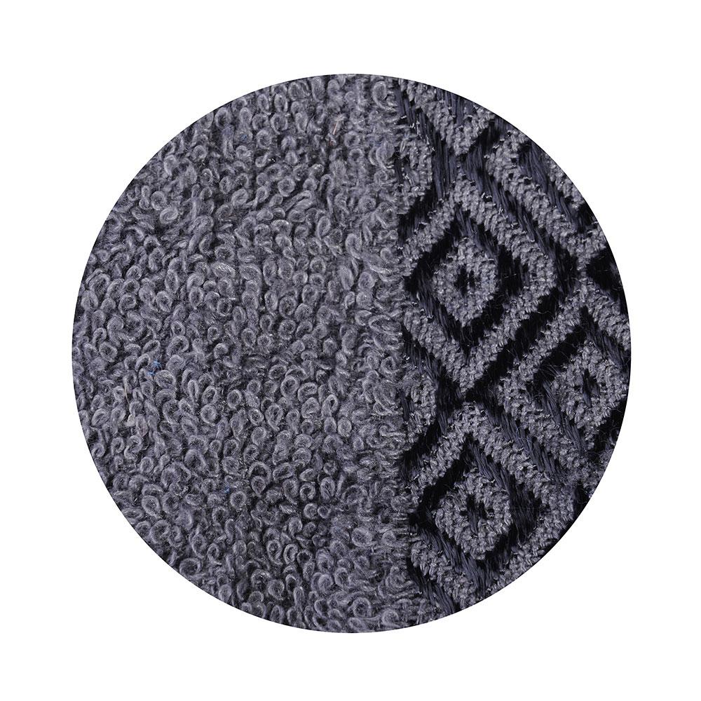"""Полотенце махровое, 100% хлопок, 70х140см, """"Соты"""", серый"""