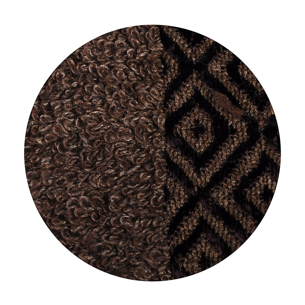 Полотенце банное махровое, 70х140см, коричневое