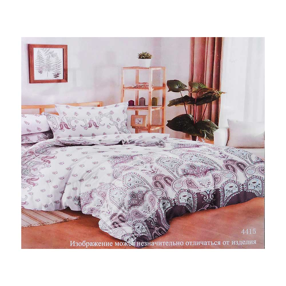 """Комплект постельного белья 2 спальный PROVANCE, полисатин, """"Галла"""""""