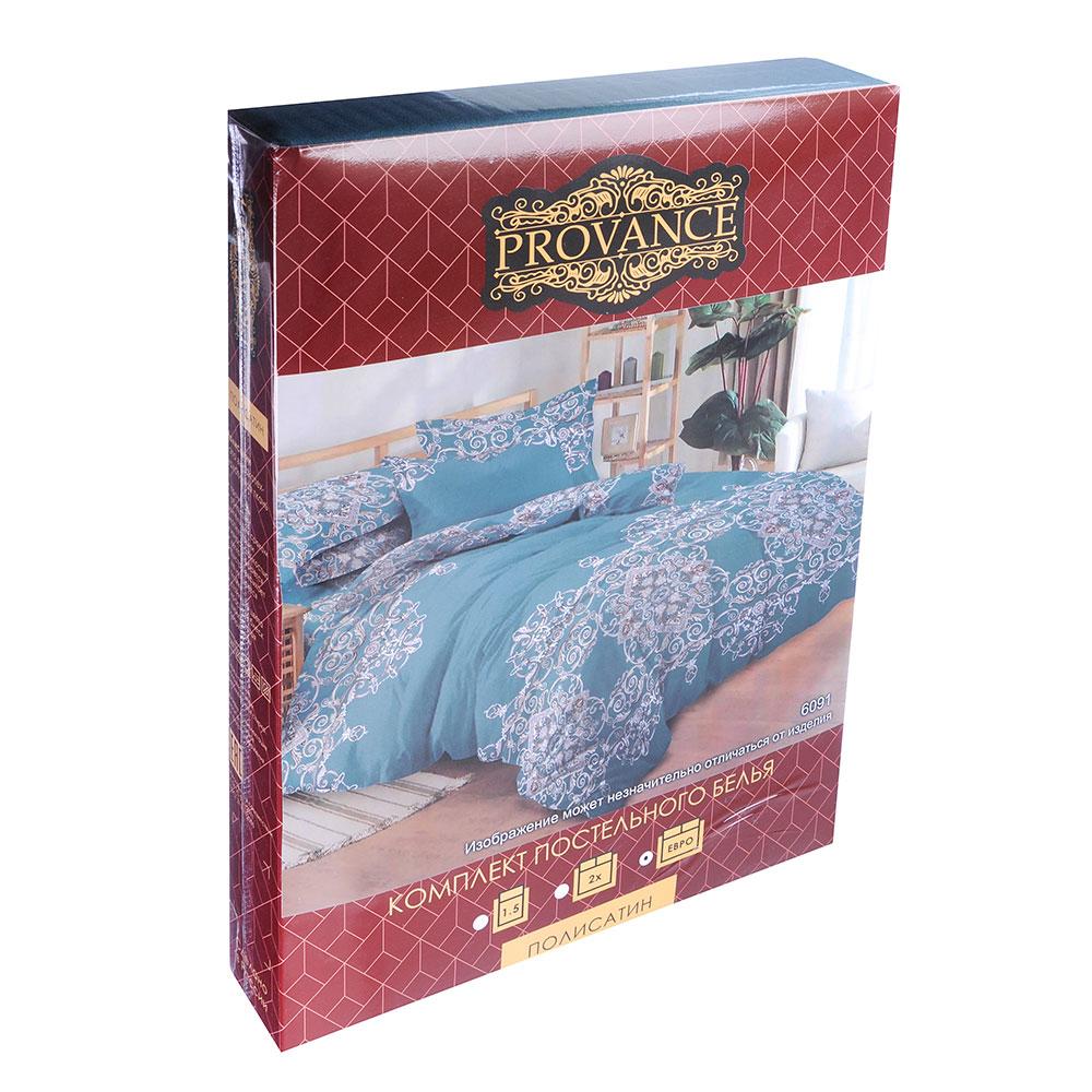 """Комплект постельного белья евро, полисатин, """"Пандора"""""""