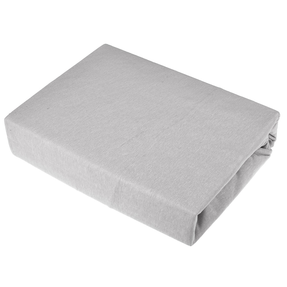Простыня трикотажная на резинке PROVANCE 140х200х20 см, 4 цвета