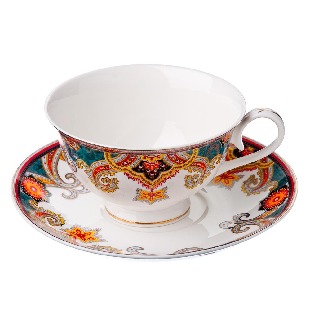 MILLIMI Попурри Набор чайный 12 пр., 200мл, костяной фарфор