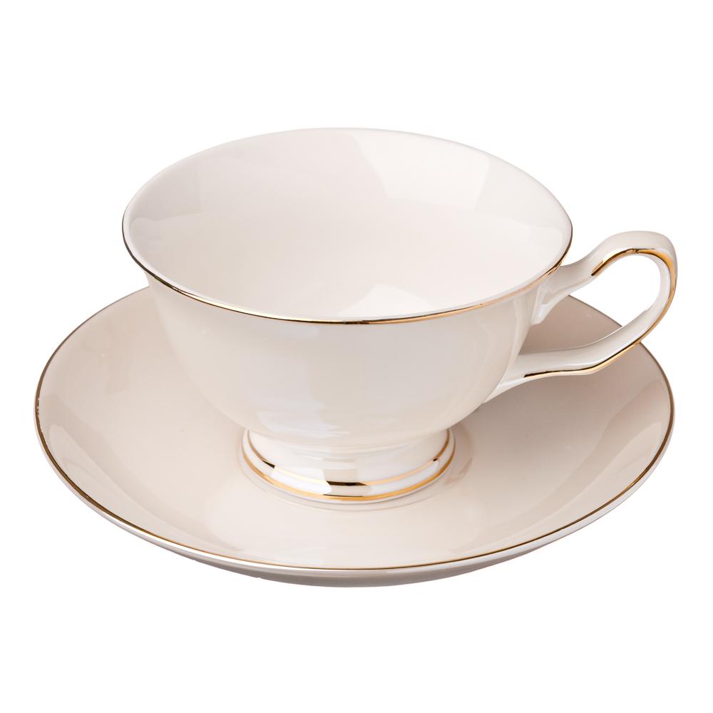 MILLIMI Глазурь Набор чайный 4 пр., 200мл, костяной фарфор