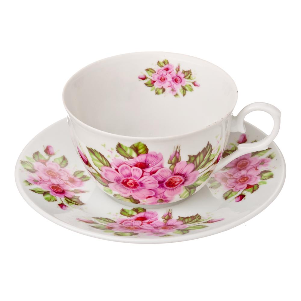 """Чайный сервиз 2 предмета, фарфор, 250 мл, MILLIMI """"Надежда"""""""