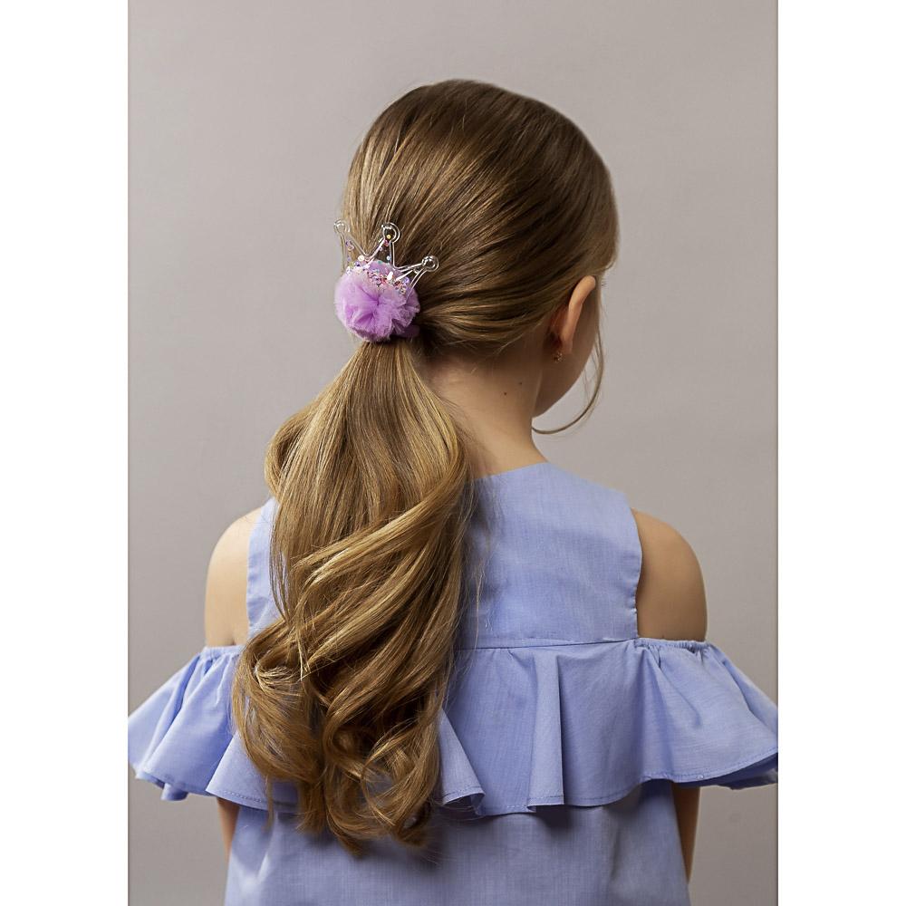 Резинка для волос с декором BERIOTTI, d.6 см, 2 дизайна