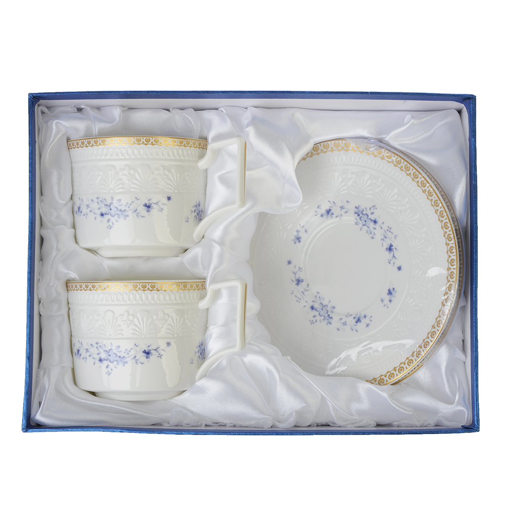 MILLIMI Джулия Набор чайный 4 пр., 300мл, костяной фарфор