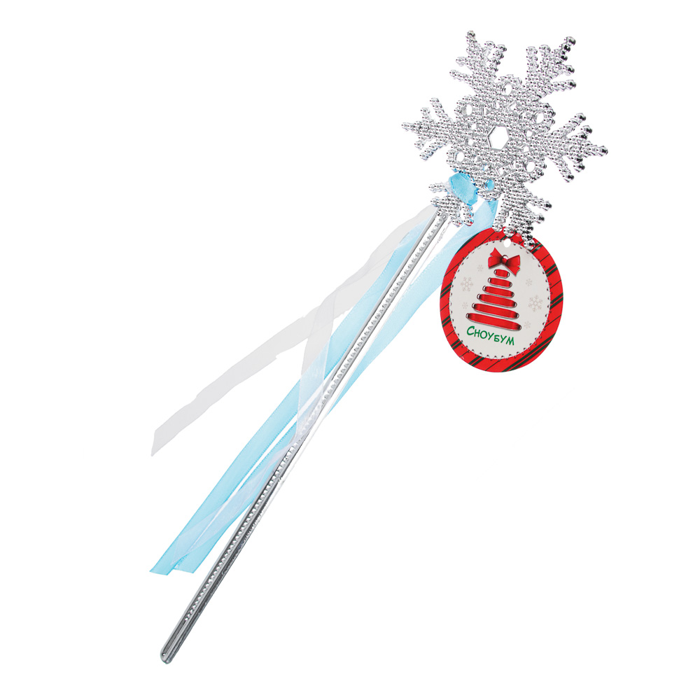 Волшебная палочка, пластик, полиэстер, 8х34 см, СНОУ БУМ