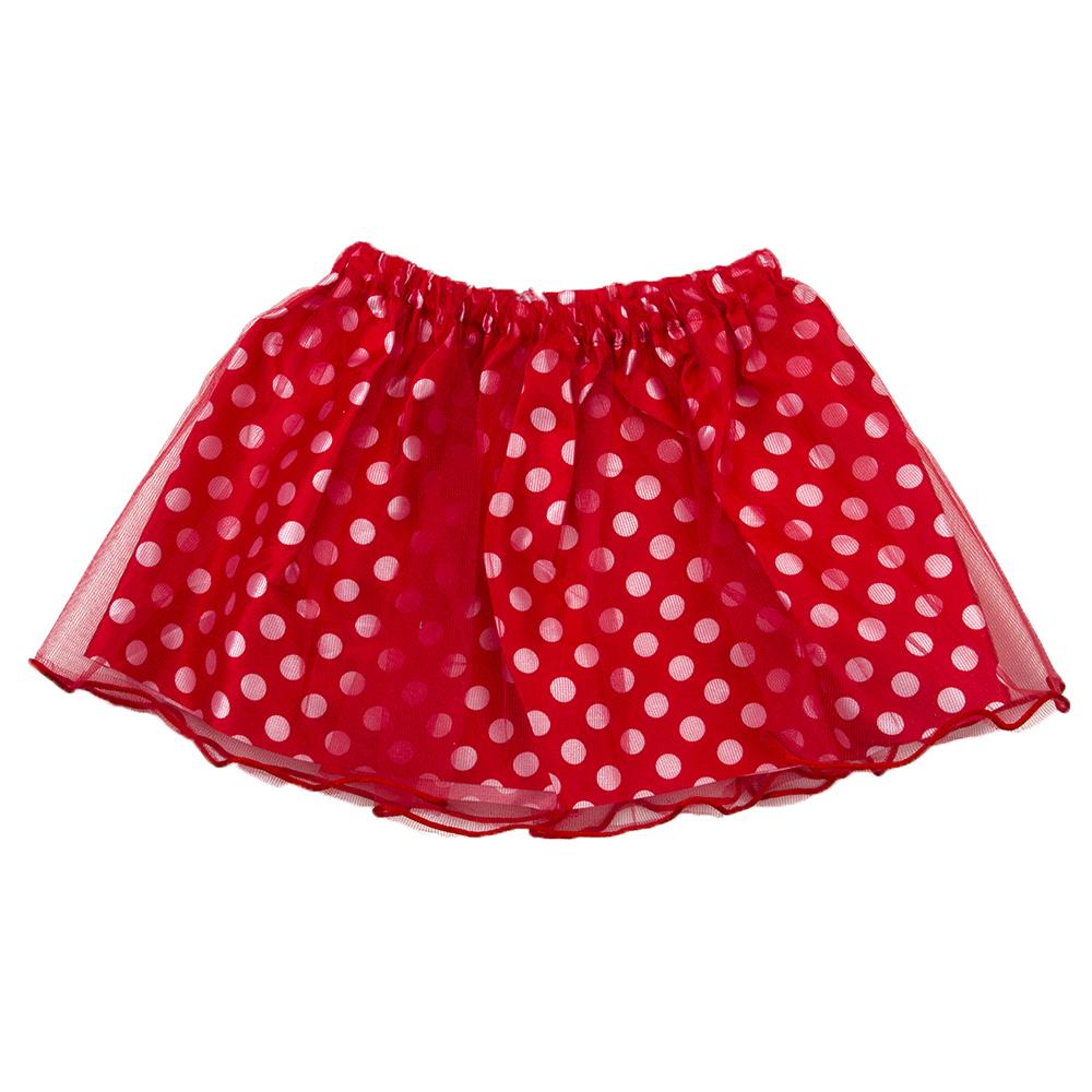 Костюм карнавальный 3 предмета, юбка 2 слоя, полиэстер, 27 см, 4 дизайна, 2+, СНОУ БУМ