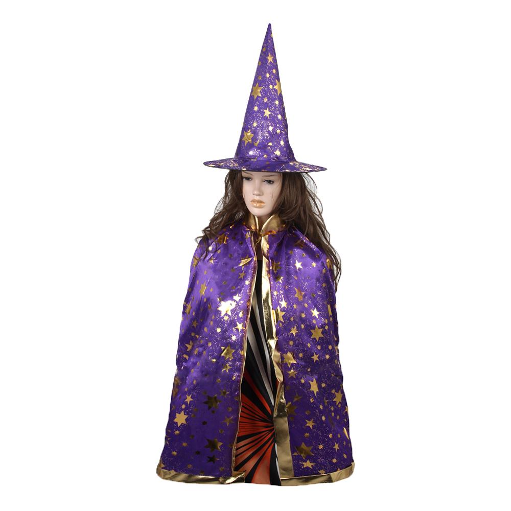 Костюм карнавальный звездочет, полиэстер, 80 см, 2 цвета, СНОУ БУМ