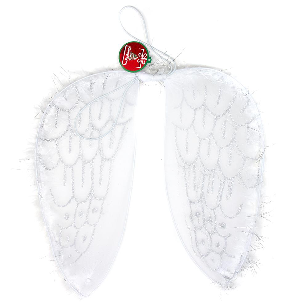 Костюм карнавальный крылья ангела, полиэстер, 37х47 см, СНОУ БУМ