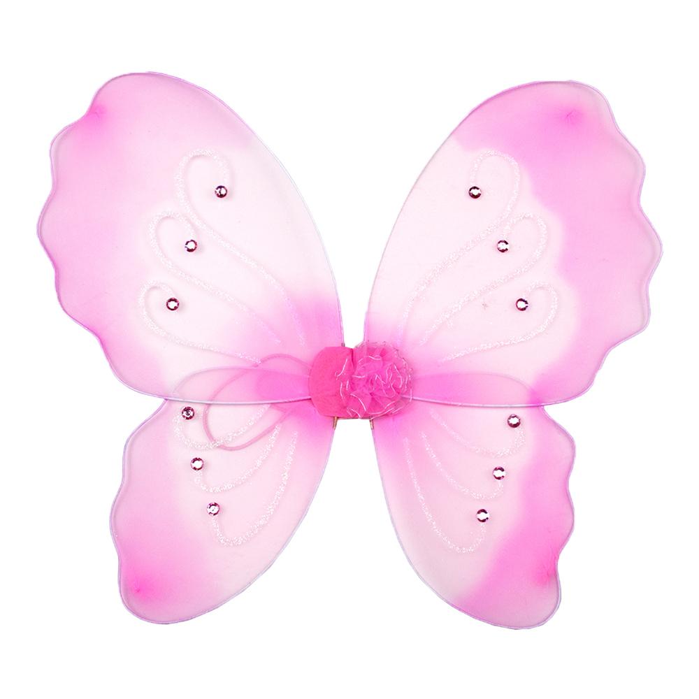 Костюм карнавальный крылья бабочки, полиэстер, 40х49 см, 4 дизайна, СНОУ БУМ