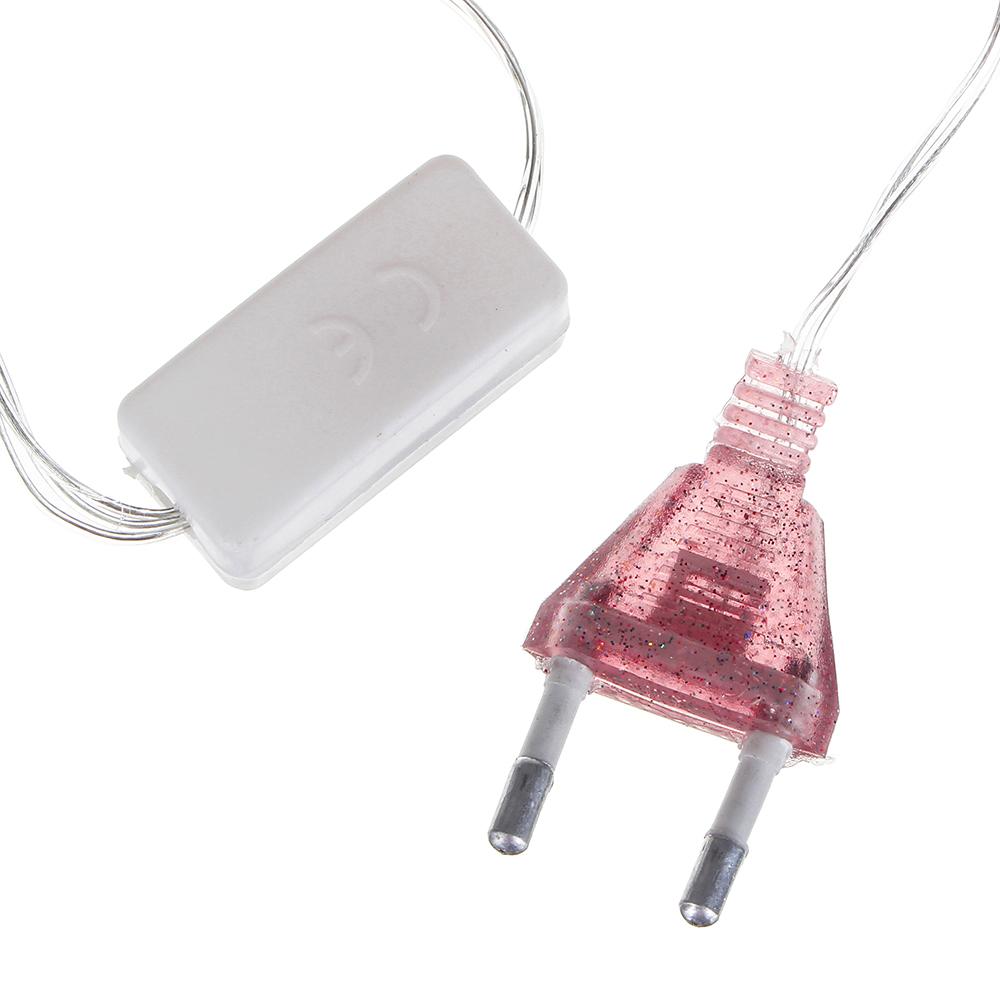 СНОУ БУМ Гирлянда электр. сеть 144LED, 1,6x1,6м, фиолетовый, 8 реж, прозр. провод, 220В
