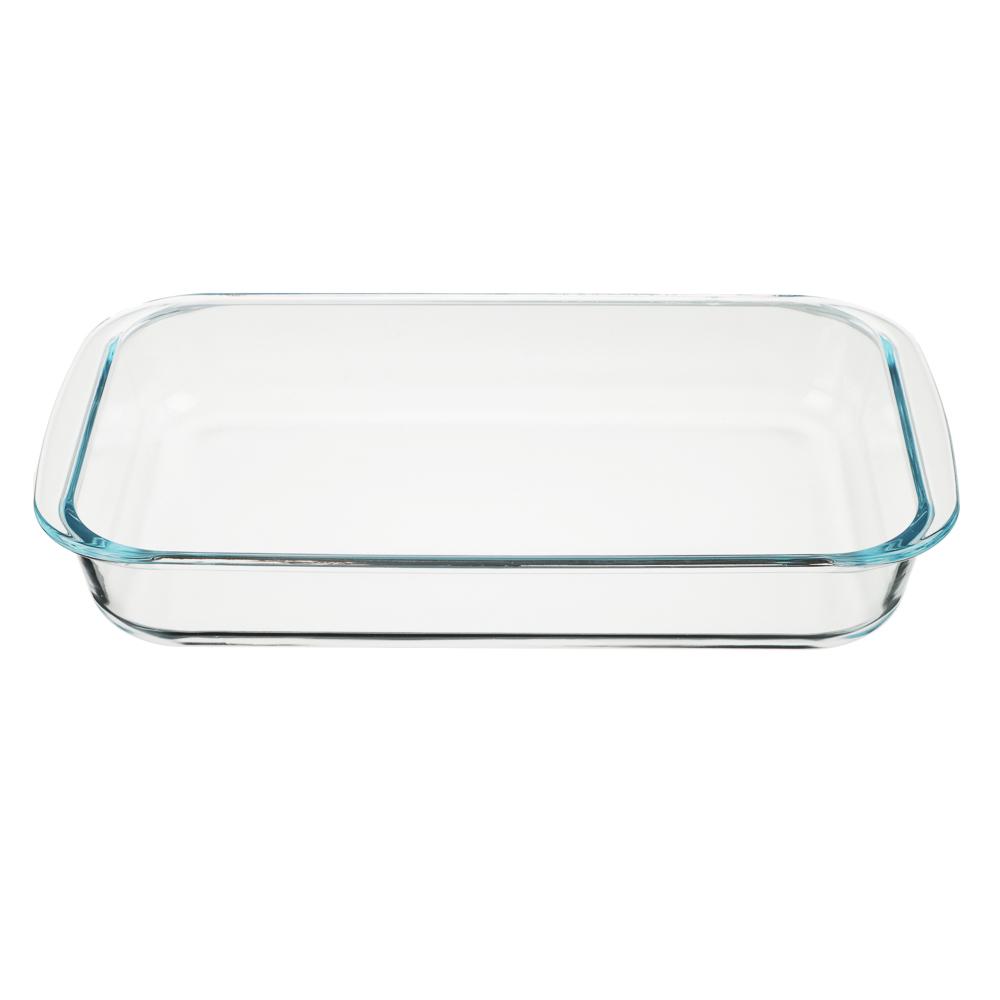 Форма для запекания жаропрочная 2 л SATOSHI, 34х21х5 см, стекло