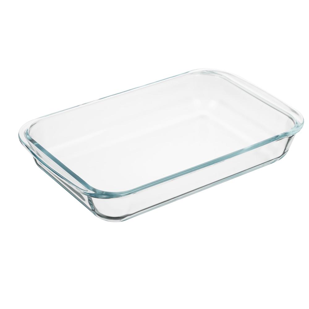 Форма для запекания жаропрочная 1,5 л SATOSHI, с ручками, стекло