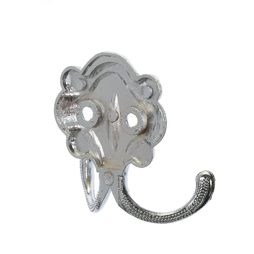 Крючок КВ-2 (2-х рожковый) хром