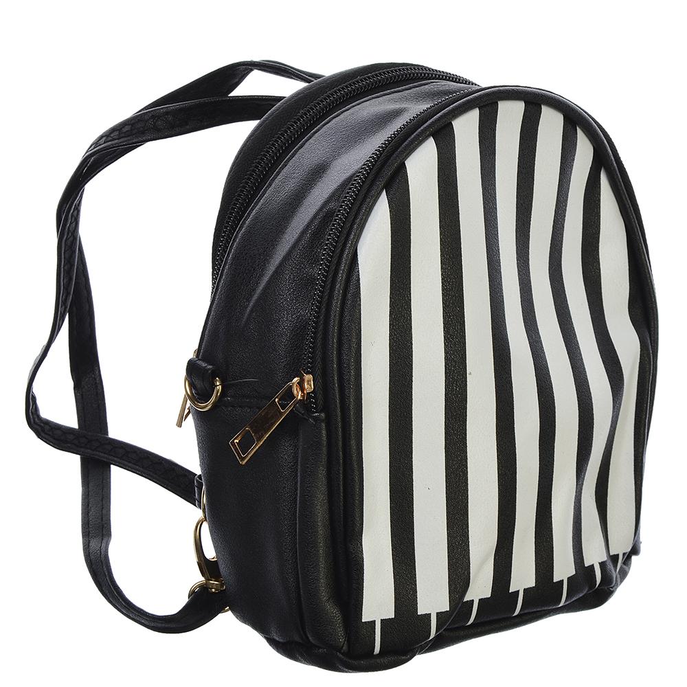 Рюкзак детский, ПУ, сплав, 18x16 см, 2 дизайна