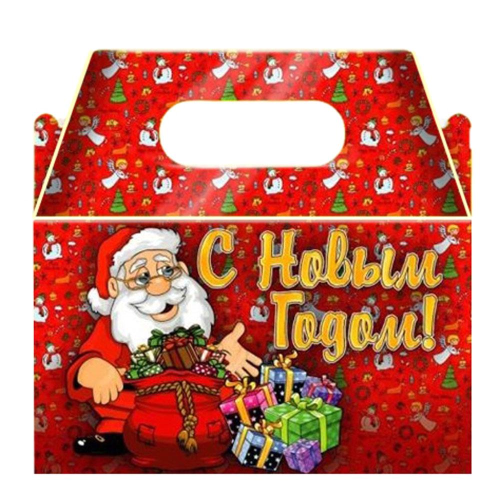 """Коробка для конфет, 17х12х10см, """"С Новым Годом"""""""