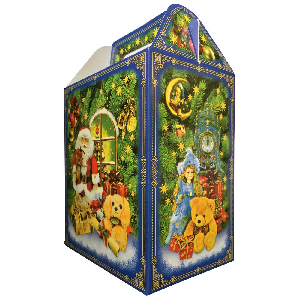 """Коробка для конфет, 19,7х16,7х11,7 см, """"Домик"""", с окошком"""