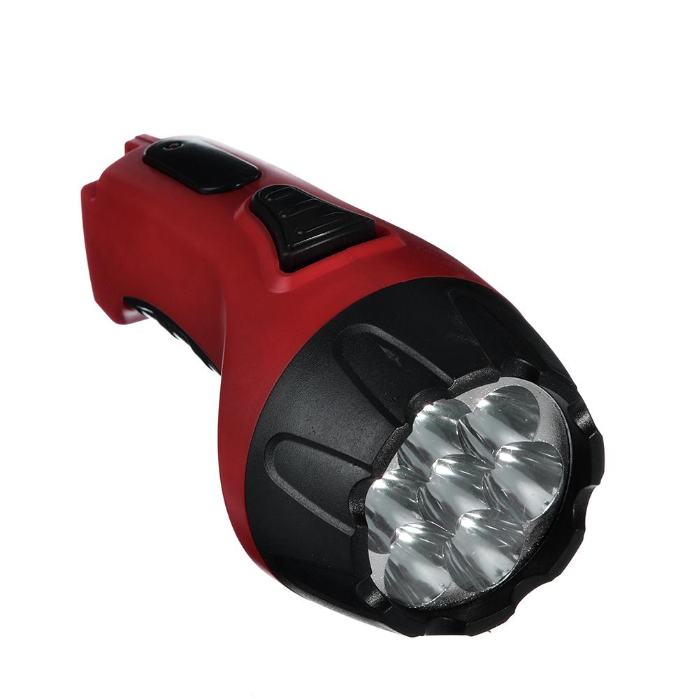 ЕРМАК Фонарь аккумуляторный, заряд от 220В, 4 LED