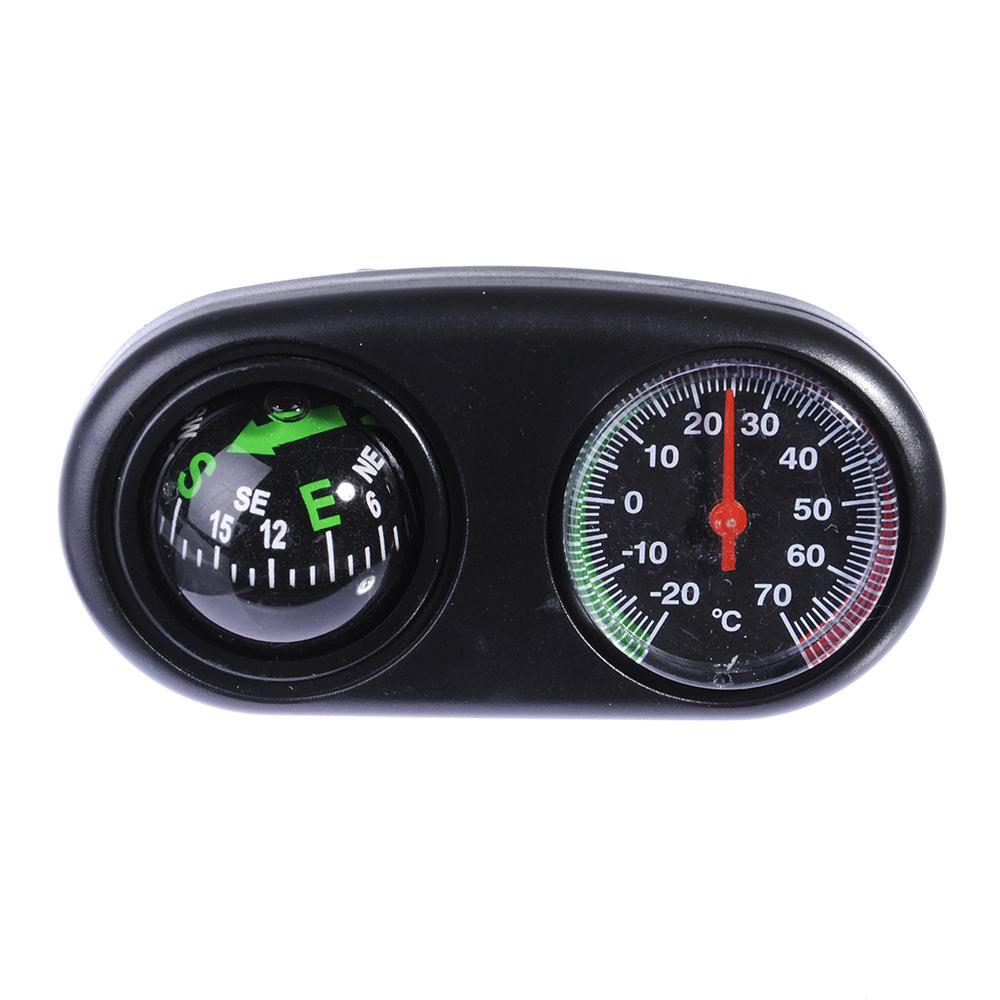 NEW GALAXY Компас и термометр автомобильные, в одном корпусе, блистер