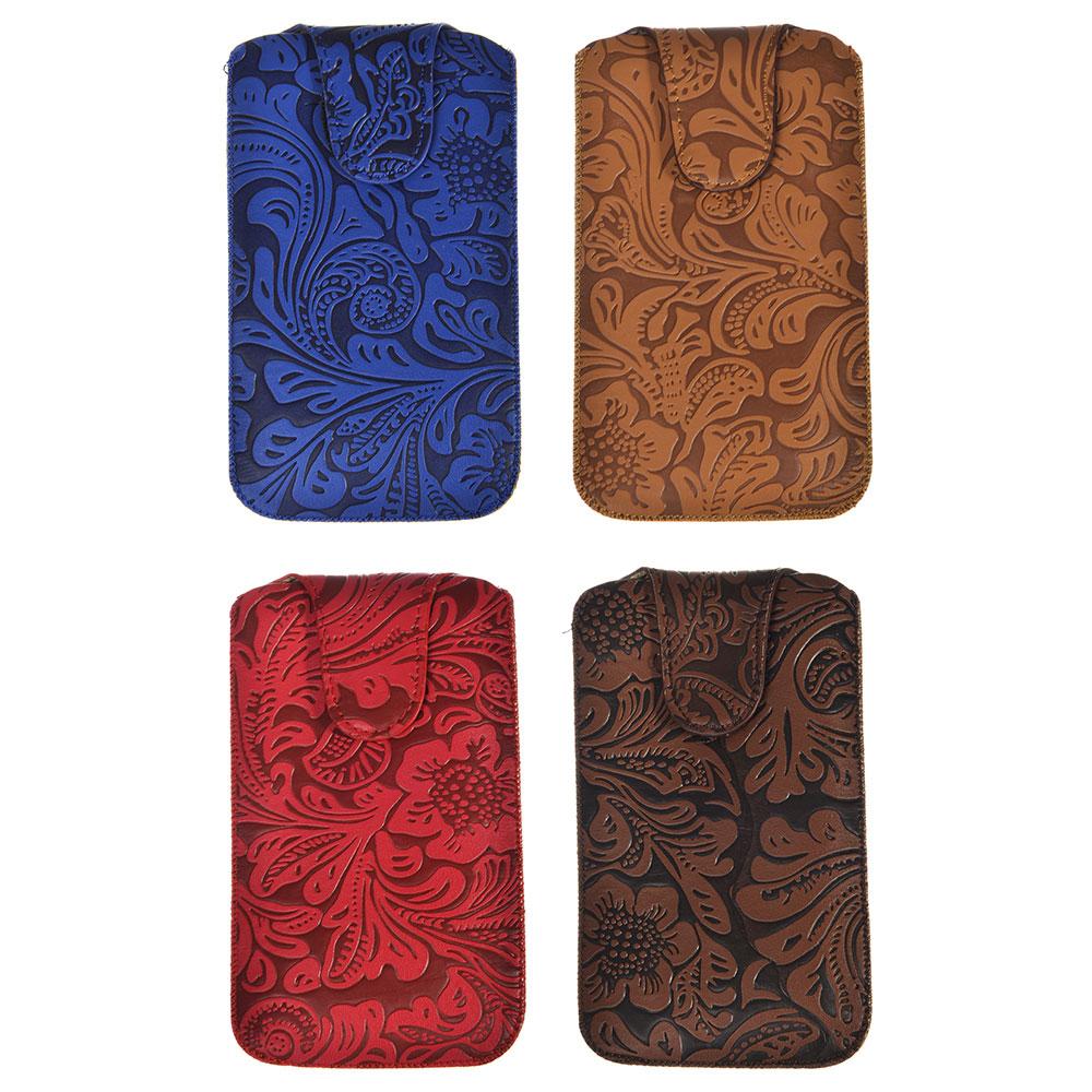 Чехол для телефона, ПУ, 15х8,5см, 4 цвета, MC2017-2
