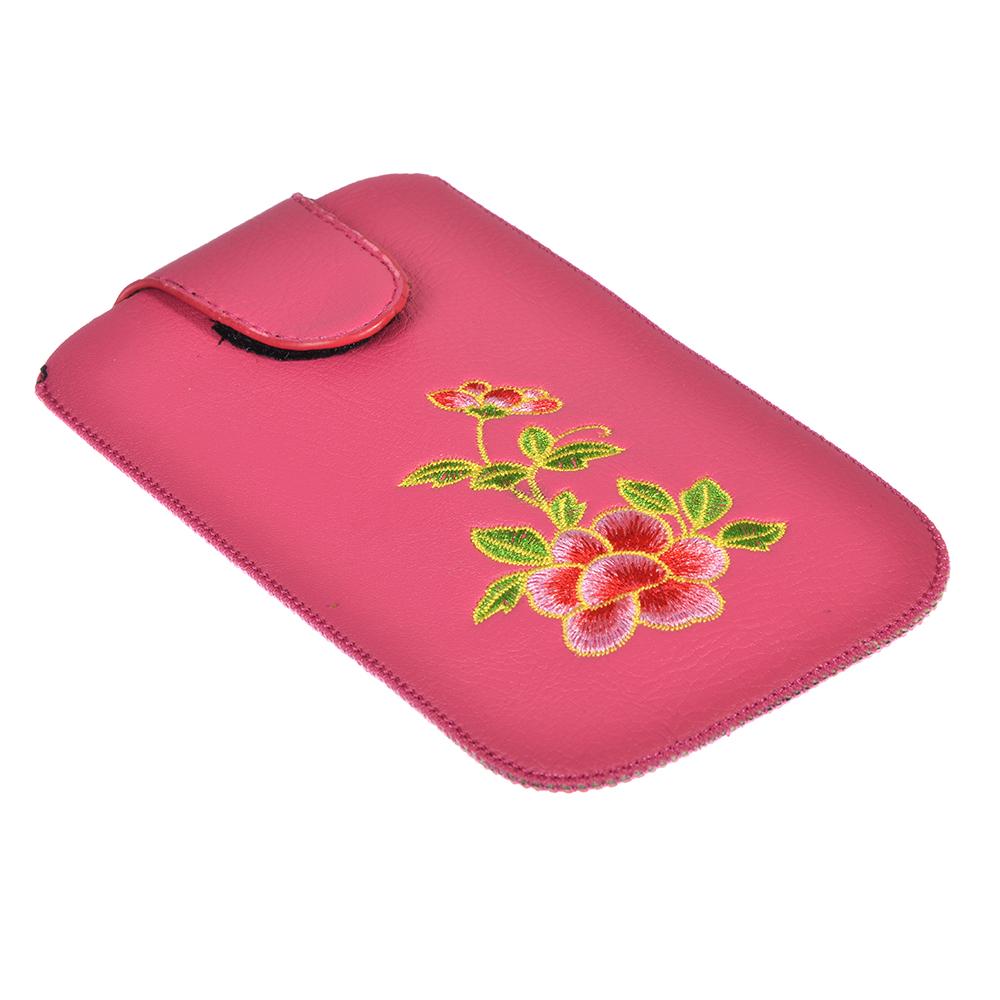 Чехол для телефона, ПУ, 16,5х9,5см, 3 цвета, MC2017-5