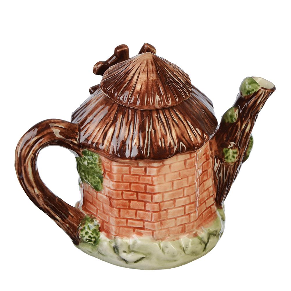 """Домики Чайник заварочный, керамика, 300мл, """"Мельница"""""""
