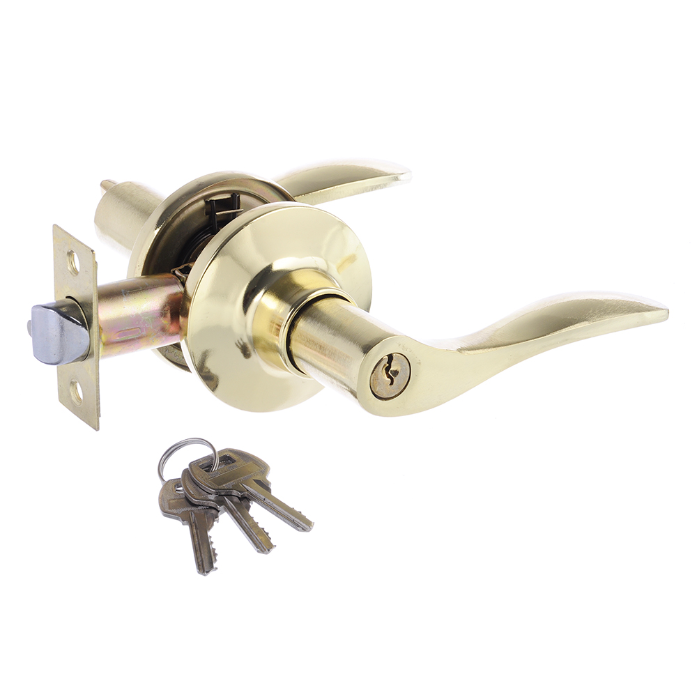 LARS Замок 3187-01 золото c ключом