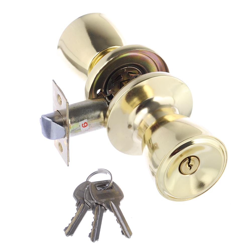 LARS Замок 5762-01 золото c ключом