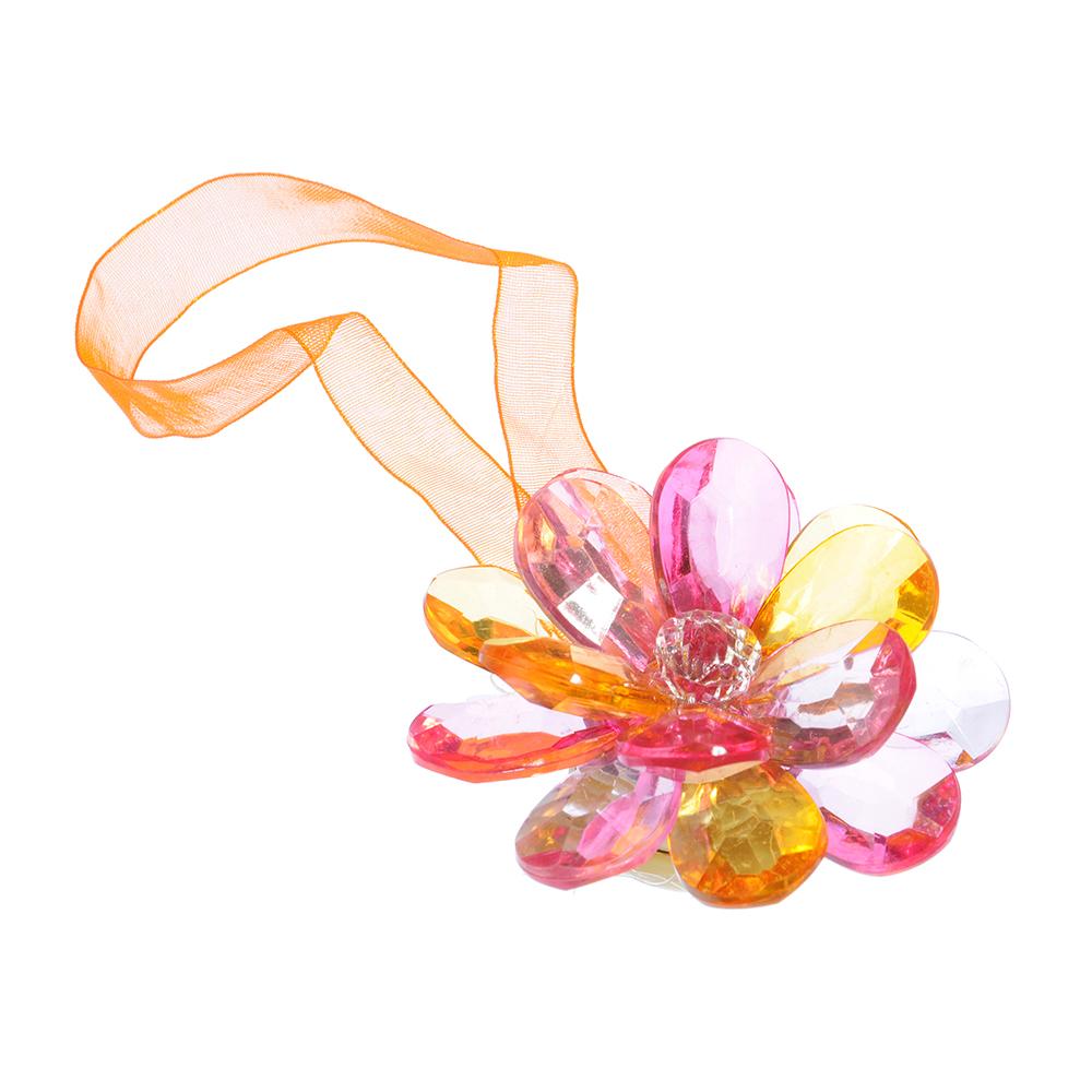 """Зажим для штор магнитный, 5 цветов, """"Лилия"""""""