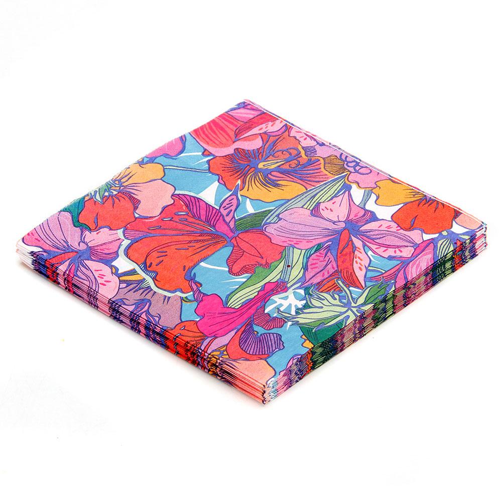 Салфетки бумажные 20шт, двухслойные, №1 Дизайн ГЦ