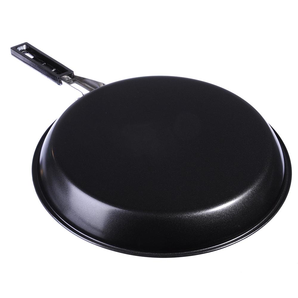 Сковорода с антипригарным покрытием 24см, углеродистая сталь