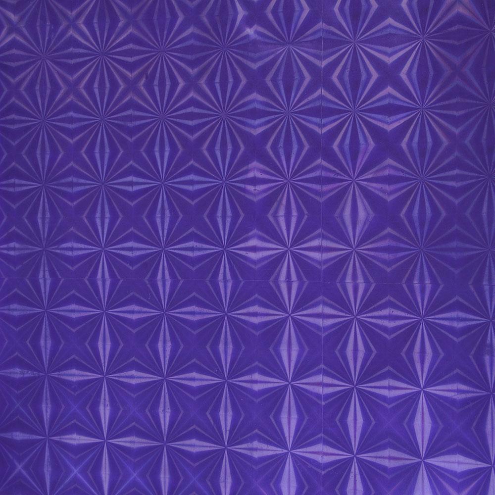 VETTA Шторка для ванной, винил, 180x180см, 12 колец, 3D, фиолетовый